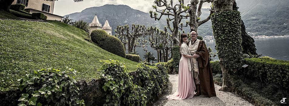 Villa del balbianello star wars wedding cakes