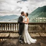 villa pizzo lake como wedding photographer